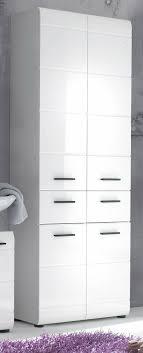 badezimmer hochschrank hochglanz weiß badschrank 60 cm