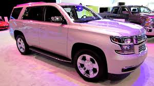 2015 Chevrolet Tahoe LTZ Exterior and Interior Walkaround 2014