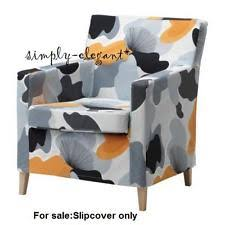 Karlstad Armchair Cover Grey by Karlstad Chair Cover Slipcovers Ebay