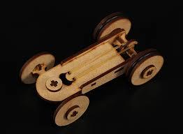 rubber band car laser cut wood model kit l toy pinterest