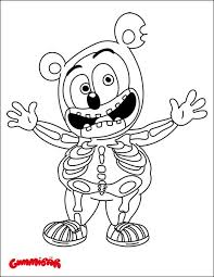 Download A Free Gummibar Coloring Page Today