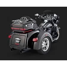 vance hines dresser duals black exhaust for harley davidson