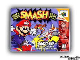 Super Smash Bros. N64 Nintendo 64 Game Case Box Cover Brand New Pro ...