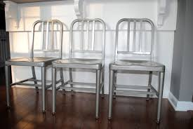Metal Kitchen Chairs 2 Good 19 For Interior Decor Home With