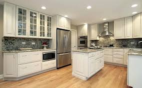 modern classic kitchen cabinet modern recessed lighting with oak