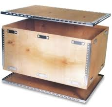 Sleeve Has Four Sides And Creates Wooden Walls Of Crate