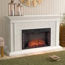 Alvar Simulated Electric Fireplace