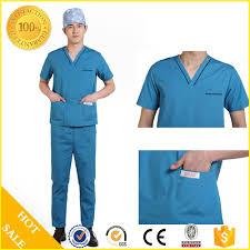 Ceil Blue Scrub Sets by Medical Hospital Scrub Suit Medical Hospital Scrub Suit Suppliers