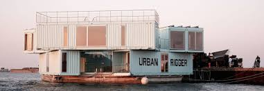 100 Container Box Houses Why These Floating Dorms Made From Shipping Containers Are