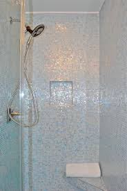 sneak a beautiful blue bathroom paint it what i hexagon mosaic