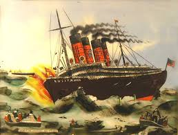 When Did Lusitania Sink by Great