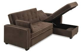 Serta Convertible Sofa With Storage by Dream Convertibles