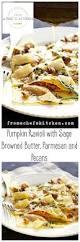 Pumpkin Gnocchi Recipe With Sage Butter by Best 25 Pumpkin Ravioli Ideas On Pinterest Brown Butter Sauce