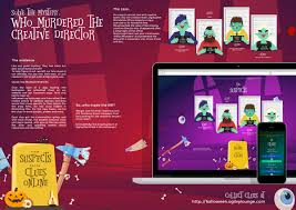 Poems About Halloween Night by Ogilvyone Digital Advert By Ogilvy A Halloween Murder Mystery