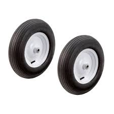 100 Hand Truck Tires Pneumatic 16 In Wheels Replacement Lawn Garden