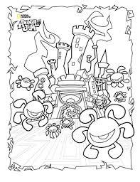 Animal Jam Coloring Pages Phantom