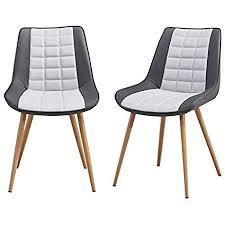 folkbury nordic style set mit 2 stühlen aus metall skandinavischer stil für esszimmer wohnzimmer küche