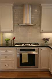 Elegant Do You Tile Before Install The Hood Vents Kitchen Decor