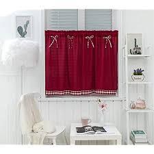 dreamskull kurzstores gardinen kleinfenster kurz landhausstil vintage blickdicht scheibengardinen kurzgardinen vorhang kurzvorhang modern küche