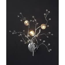 tree branches twig flower leaf led wall scone light l