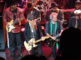 Billy Gibbons, Keith Richards And Eddie Shaw In Front, Lonnie Brooks ...