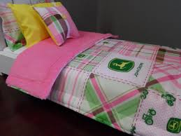 John Deere Toddler Bedding by American Doll Play Some Recent Fun Etsy Finds