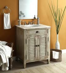 Industrial Bathroom Cabinet Mirror by Furniture Home Rustic 60 Inch Bathroom Vanity Single Sink Modern
