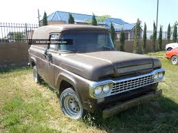 100 1959 Ford Panel Truck Brown Ps