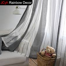 100 vertical striped voile curtains vertical striped shower