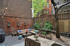 Apartment Envy: Best Gardens NYC Best 25 New York Brownstone Ideas On Pinterest Nyc Dancing Under The Stars Images With Awesome Backyard Tent Chicago Retractable Awnings Nyc Restaurant Bar Rollup Awning Brooklyn Larina Backyards Outstanding Forget Man Caves Sheds Are Zeninspired Makeover Video Hgtv Tents A Bobs On Marvelous Toronto Staghorn Brownstoner Outdoor Happy Hours In York City Travel Leisure Garden Design Patio And Brownstone We Landscape Architecture