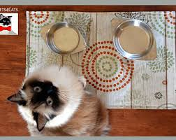 Pet food mats Crafts4Cats Handmade Pet Accessories