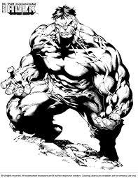 Coloring Page Hulk Superheroes 94