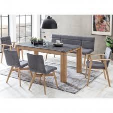 standard furniture sitzbank arona polsterbank mit massivholzgestell bank mit aufwendiger steppung für esszimmer oder küche in drei holzausführungen