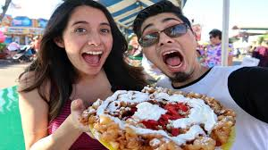 HUGE FOOD AT THE OC FAIR!!! | Markus & Carla - YouTube The 12 Craziest Mostly Fried Foods At This Years Oc Fair Crazy Food Hlights Bacon Krispy Kreme Sloppy Joe And More Nibbles Of Tidbits A Blogmore Fare The Orange County Eating My Way Through Having Great Time What You Should Be Eating Fair Nutella Game Fairgrounds Double Dose Trucks Dogzilla Hot Dogs Blogfun Competions 9 Most Unbelievable New Foods From Wacky Fair Biggest Most Insane List Of Youll Ever Read Pineapple Express By Chicken Charlies Street Vendors 88 Dr Peanut Butter Jelly Sriracha Funnel Cake Yes Its
