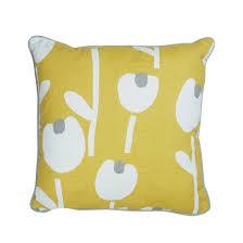 100 Ochre Home Alabar Cushion