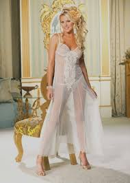Wedding Night Lingerie See Through Gown Ideas For Newlyweds The