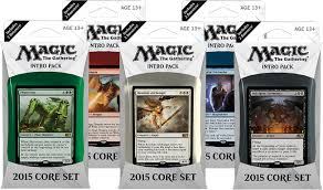 magic 2015 m15 core set intro pack decklists by planeswalker s