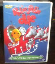 Rolie Polie Olie Halloween Vhs by Rolie Polie Olie Olies Winter Wonderland Dvd 2003 Ebay