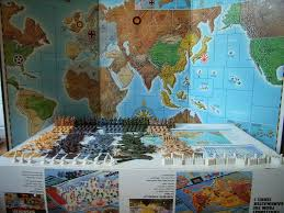 Large Axis And Allies Maps