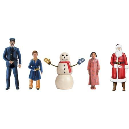 Lionel Trains Polar Express Snowman and Children People Miniature Figure Pack