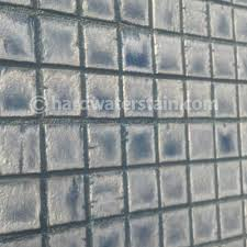 water efficient pool tile cleaning and water stain removal