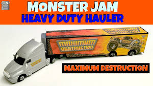 MAXIMUM DESTRUCTION Heavy Duty Hauler Monster Jam - YouTube Maximum Destruction Monster Truck Toy List Of 2017 Hot Wheels Jam Trucks Wiki Battle Playset Walmart Intended For 1 64 Max D Yellow 2016 New Look Red Includes Rc Remote Control Playtime Morphers Vehicle Jual Stock Baru Monster Jam Maxd Revell Maxd Model Kit Scratch Catchoftheday