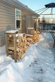 Cord Wood Storage Rack Plans by My Rack For Firewood Photo U0027s