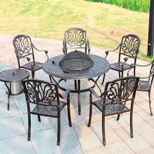Cast Aluminum Outdoor Sets by Aluminum Outdoor Furniture Sets Outdoor Grill Outdoor Courtyard