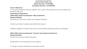 Example Of Resume Headline For Mechanical Engineer Examples Human Resources Finance Printout Template