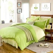 Solid Lime Green Duvet Cover Pure Solid Pink Green Yellow Purple