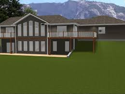 Floor Plans Walkout Basement Inspiration by Decor Remarkable Ranch House Plans With Walkout Basement For Home