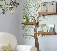 moderne wandbilder im wohnzimmer holzregale wandbild mit