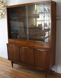 Broyhill Brasilia Magna Dresser by Mid Century Modern China Cabinet Hutch From Kent Coffey U0027s Tableau