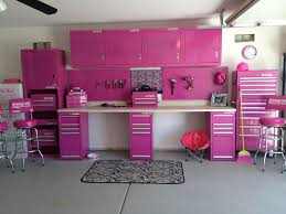 pink tool boxes gals side guys side camo black lime